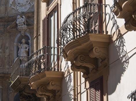Balconi barocchi di Siclia