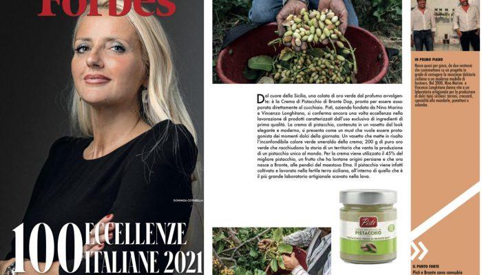 Forbes: Pistì tra le prime 100 eccellenze italiane